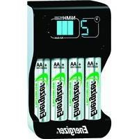 Energizer Compact  Charger With 4 AA NiMH Rechargeable