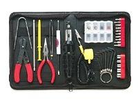 36 Piece Computer Tool Kit Black Case Demagnetized Tools