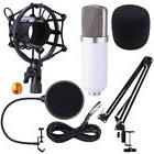 Condenser Microphone Shock Mount Arm Stand Pop Filter For
