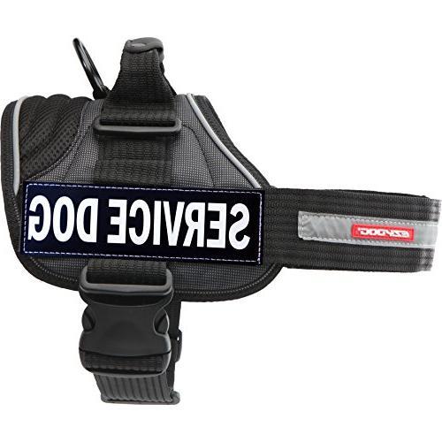 EzyDog Convert Harness with Service Dog Badge, X-Small,