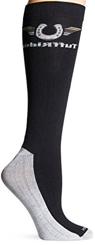 TuffRider Ladies Coolmax Boot Socks Black