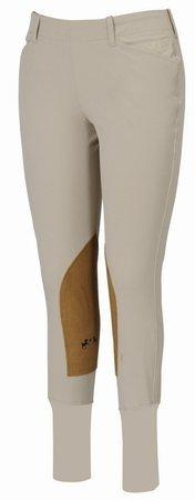 Equine Couture Women's Coolmax Champion Side Zip Breech with