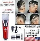 Mens Cordless Hair Trimmer Wireless Beard Shaver