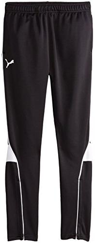 PUMA Big Boys' Pure Core Soccer Pant, PUMA Black, Medium