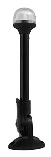 "Attwood Corporation 5358-12-7 12"" Black Plastic Pole Fold"
