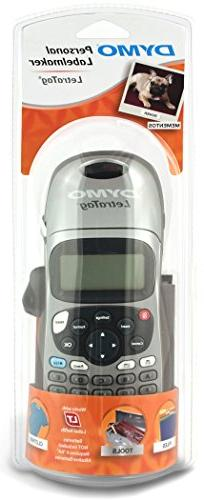 Dymo Corporation LetraTag LT-100H Electronic Label Maker, 6.
