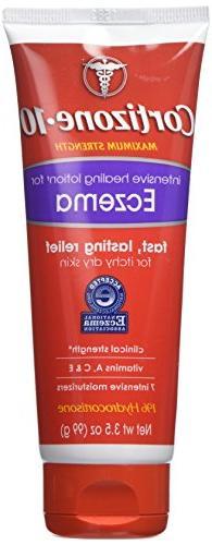 Cortisone 10 Intensive Healing Eczema Lotion, 3.5 Ounce