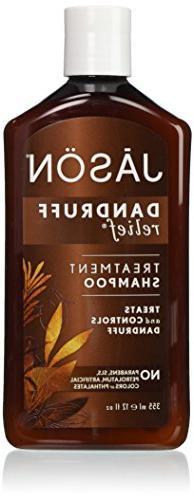 JASON Natural Cosmetics Dandruff Relief Shampoo, Rosemary,