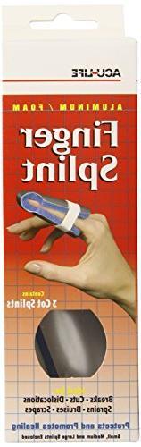Acu-Life Cot Finger Splint, 3 Count