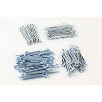 Cotter Pin Set 144 Pieces Metal Fastener Maintenance