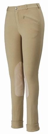 TuffRider Women's Cotton Jods, Light Tan, 34