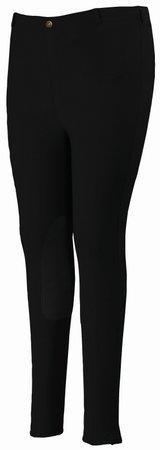 TuffRider Women's Cotton Pull-On Breeches , Black, 42