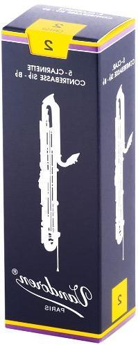 Vandoren CR152 Contrabass Clarinet Traditional Reeds