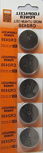 CR2430 Loopacell Lithium Batteries