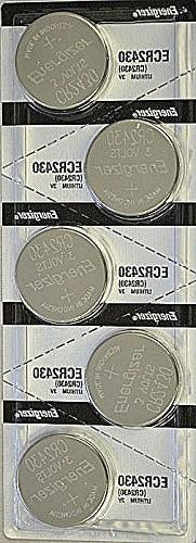5x Energizer CR2430  Lithium Coin 3v Button Cell battery