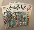 Lot Of 3 Adult Creative Expression New Coloring Book
