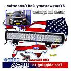 18 inch CREE LED Light Bar SUV ATV 4WD UTE Off Road Boat