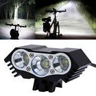 3x CREE XM-L T6 LED 10000Lm Cycling Bicycle Bike Front