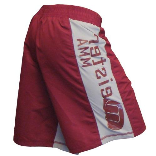 Meister MMA Crimson Red Board Fight Shorts - 29/30