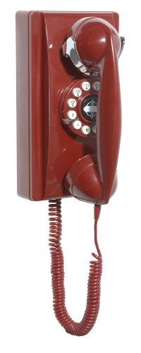 Crosley CR55-RE Crosley 302 Wall Phone-Red