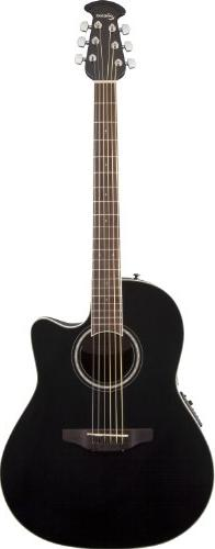 Ovation CS24-5 Acoustic-Electric Guitar, Black