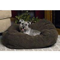 Cuddle Cube Dog Pillow Size: Small , Color: Mocha