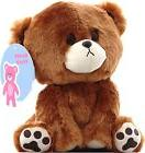 Buddy the curious sad Teddy Bear Plush Toy Small Cute 9 Inch