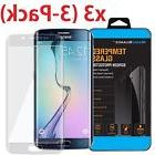 3x Curved Full Cover Tempered Glass Screen Protector For