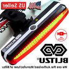 NEW Blitzu Cyborg 168T LED USB Rechargeable Bike Tail Light