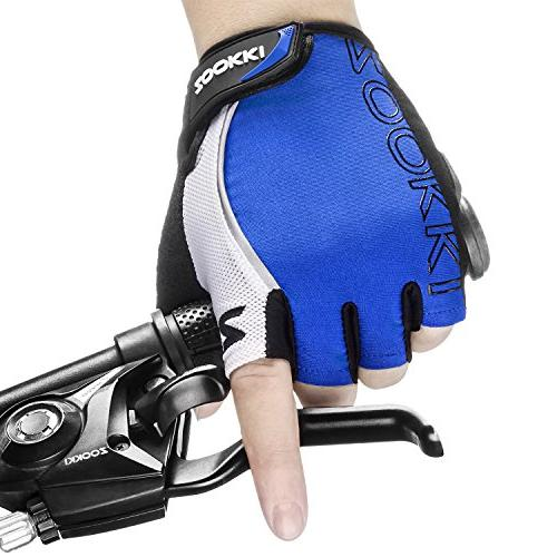 Zookki Cycling Gloves Mountain Bike Gloves Road Racing