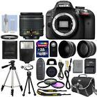 Nikon D3300 Digital SLR Camera Black + NIKKOR 18-55mm f/3.5-