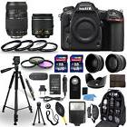 Nikon D500 Digital Camera + 18-55mm VR + 70-300mm + 30 Piece