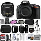 Nikon D5500 Digital SLR Camera Black with 18-55mm VR Lens +