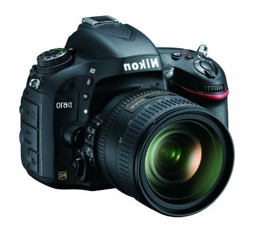 Nikon D610 24.3 MP CMOS FX-Format Digital SLR Camera with 24