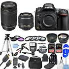 Nikon D610 DSLR Camera with 18-55mm + 70-300mm!! 2 LENS MEGA