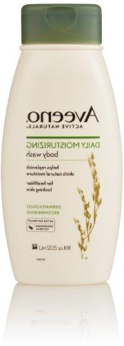 Aveeno Daily Moisturizing Body Wash, 18 oz, 2 pk