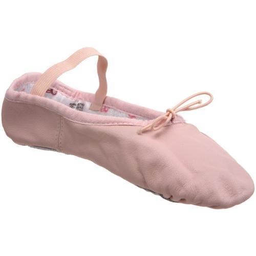 Bloch Girl's Bunnyhop Elastic Pink Ballet Flats 5 B