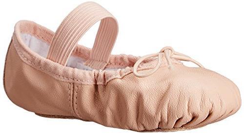 Bloch Dance Dansoft Ballet Slipper ,Pink,7.5 D US Toddler