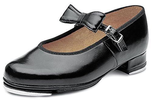 Bloch Kids Girl's Merry Jane S0352G  Black Sneaker 8 Toddler