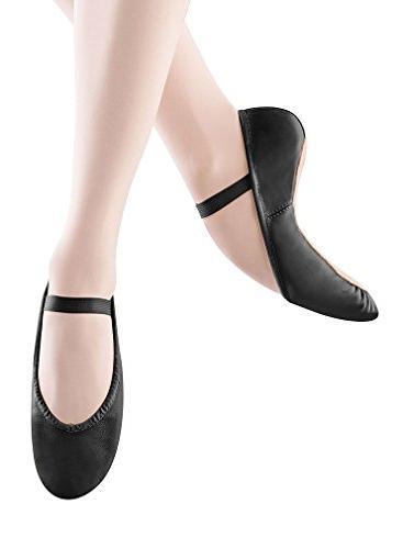 Bloch Women's Dansoft Ballet Slipper,Black,7 B US