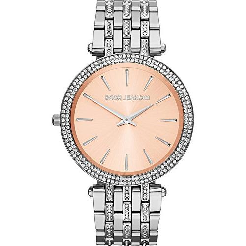 Michael Kors Women's Everyday Bling Darci Watch, Rose Gold,