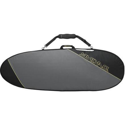DAKINE Daylight Deluxe Hybrid Surfboard Bag Charcoal, 6'0