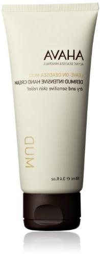 AHAVA Dead Sea Mud Dermud Intensive Hand Cream, 3.4 fl. oz