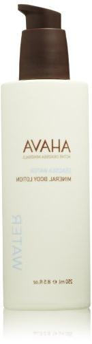 AHAVA Dead Sea Water Mineral Body Lotion, 8.5 fl oz
