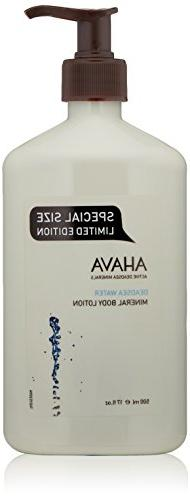 AHAVA Dead Sea Water Mineral Body Lotion, 17 fl oz