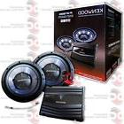 BRAND NEW KENWOOD PACKAGE DEAL CAR AUDIO 2-CHANNEL AMP