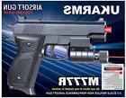 6 pc. Wholesale Dealer Lot M777R Spring Airsot Pistols