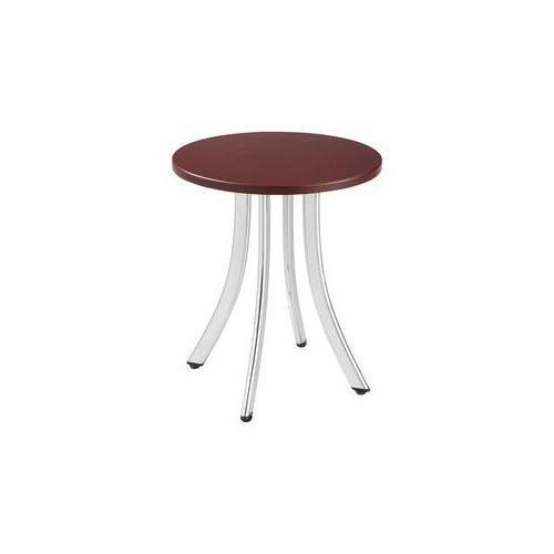 "* Decori Wood Side Table, Round, 15-3/4"" Dia., 18-1/2"" High"