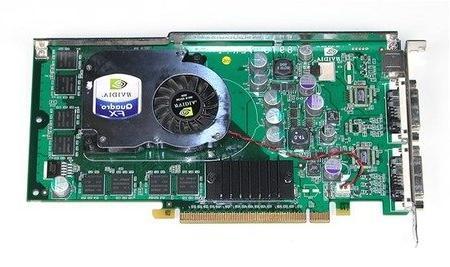 Dell nVidia Quadro FX1300 128Mb Dual DVI TV-Out PCI-E Video Card - Dell N4077