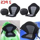 2x Deluxe Adjustable Safe Padded Kayak Seat with Detachable